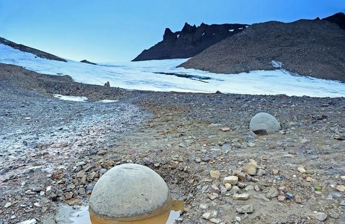 Снег, Камень, Пейзаж, Водоём, Путешествовать